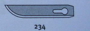 Лезвия Mozart для снятия облоя 234.063 (в наличии)