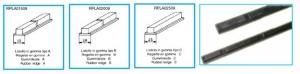 Выступающие резиновые элементы