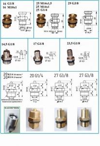 Воздушные клапаны для пневматических валов
