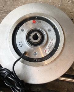 Электромагнитный пророшковый тормоз Eleflex B.651 & B.351 на 35N