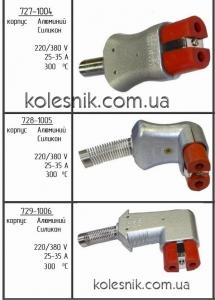 Разъём термостойкий 35А Силопрен (вилка высокотемпературная)